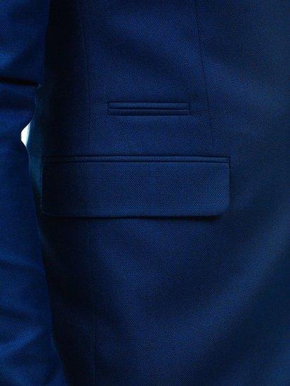Bolf Herren Anzug Dunkelblau-1  1000