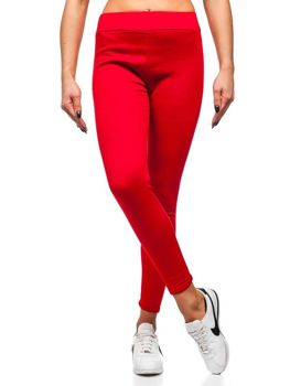 Bolf Damen Leggings Rot  YW002