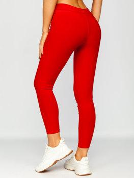 Bolf Damen Leggings Rot  YW01056