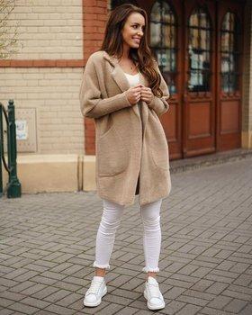 Bolf Damen Mantel Beige  7108