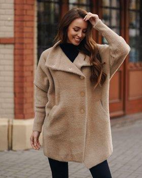 Bolf Damen Mantel Beige  7118-1