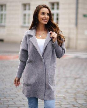 Bolf Damen Mantel Grau  7108