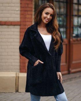Bolf Damen Mantel Schwarz  7108