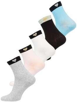 Bolf Damen Socken Mehrfarbig  X20305-5P 5 PACK