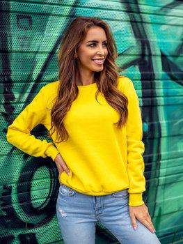 Bolf Damen Sweatshirt Gelb-Neon  W01