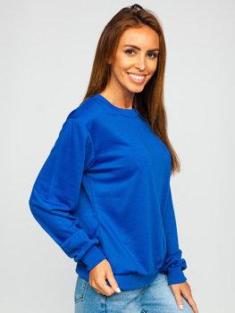 Bolf Damen Sweatshirt Kobaltblau  WB11002