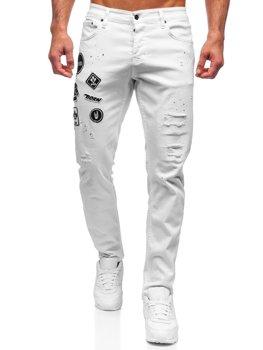 Bolf Herren Jeanshose regular fit Weiß  4021-1