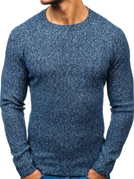 Bolf Herren Pullover Blau  H1810