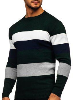 Bolf Herren Pullover Grün  H2005