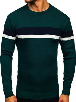 Bolf Herren Pullover Grün H2072