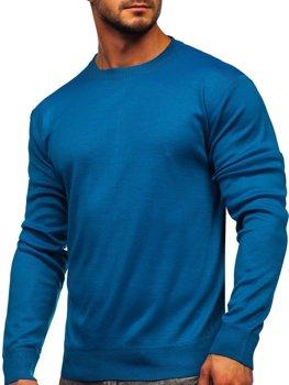 Bolf Herren Pullover Meerblau  GFC01