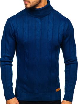 Bolf Herren Pullover golf Blau  5021