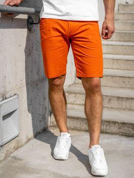 Bolf Herren Shorts Orange 1140