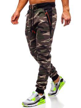 Bolf Herren Sporthose Camouflage Khaki  TC874