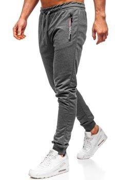 Bolf Herren Sporthose Grau XW02