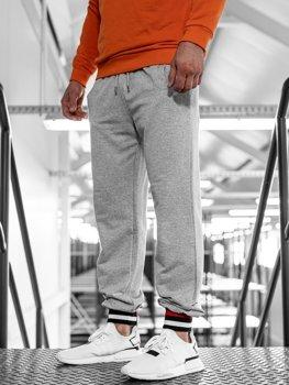Bolf Herren Sporthose Jogger Grau  145368