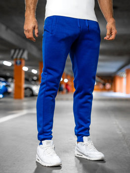 Bolf Herren Sporthose Kobaltblau  XW01