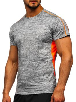 Bolf Herren Trekking Shirt Grau  KS2100