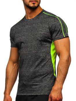 Bolf Herren Trekking Shirt Schwarz  KS2100