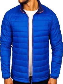 Bolf Herren Übergangsjacke Sport Jacke Blau  LY1017