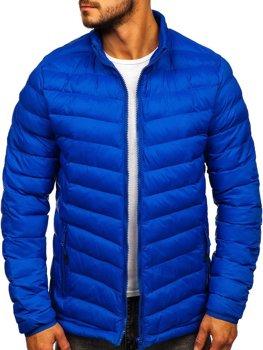 Bolf Herren Übergangsjacke Sport Jacke Blau  SM70
