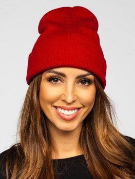 Damen Wintermütze Weinrot YW09004