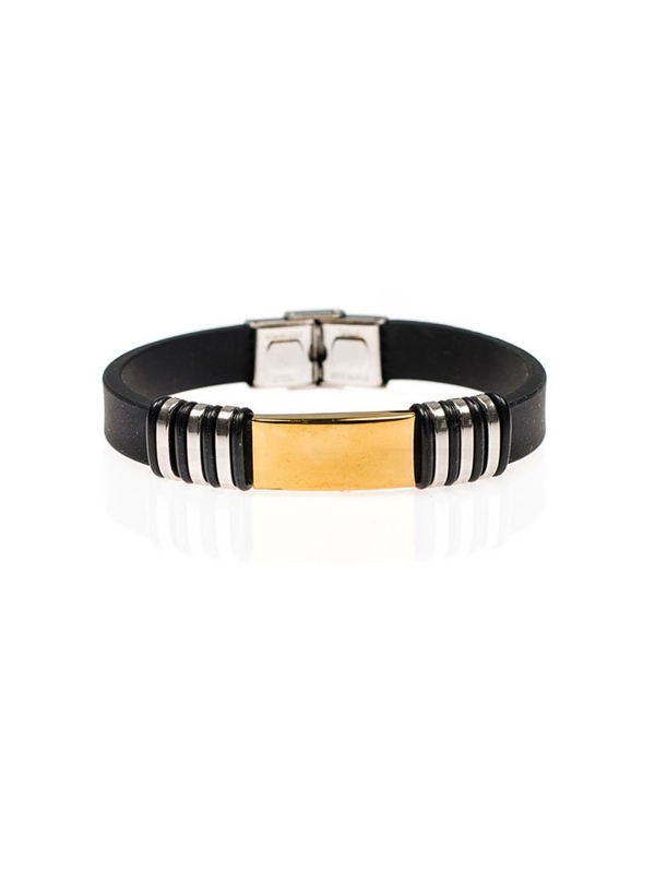 Bolf Herren Armband Schwarz B047