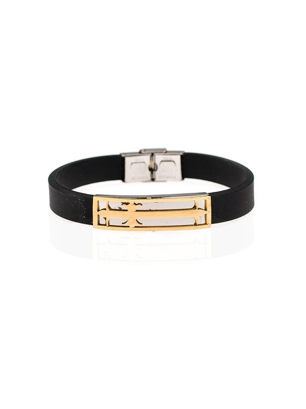 Bolf Herren Armband Schwarz B059