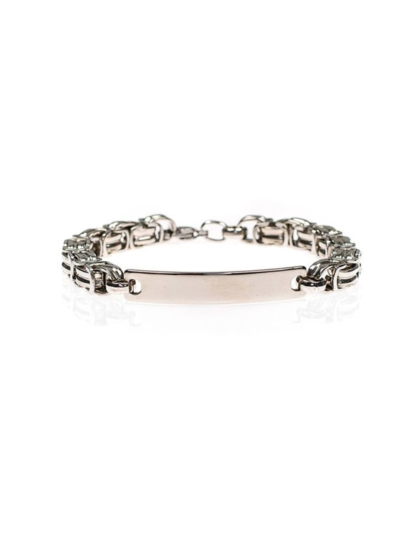 Bolf Herren Armband Silber B083