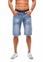 Bolf Herren Jeans Shorts Hellblau 1059