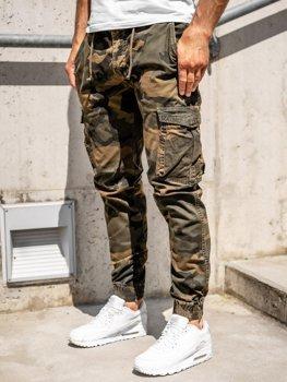 Bolf Herren Jogger Pants Cargohose Braun  CT6016