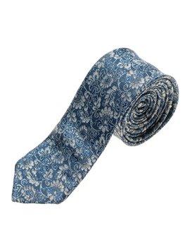Bolf Herren Krawatte Elegant Blau  K101