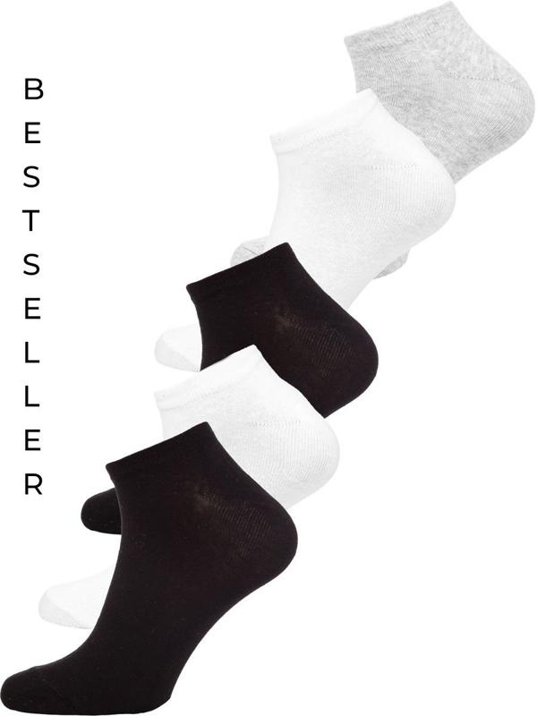 Bolf Herren Socken Füßlinge Mehrfarbig  X10161-5P 5 PACK