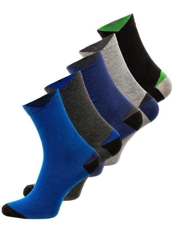 Bolf Herren Socken Mehrfarbig  X10011-5P 5 PACK