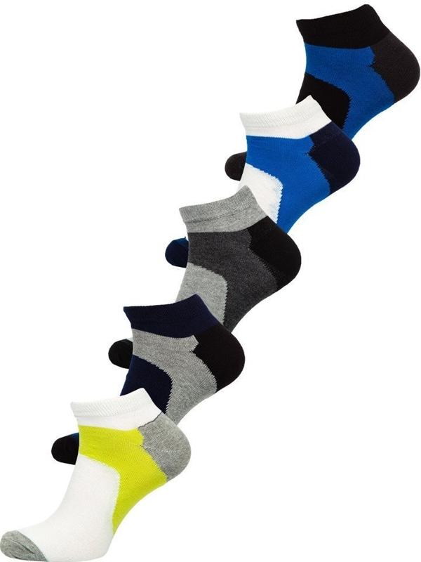 Bolf Herren Socken Mehrfarbig  X10059-5P 5 PACK