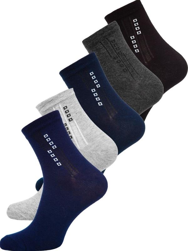 Bolf Herren Socken Mehrfarbig X10172-5P 5er PACK