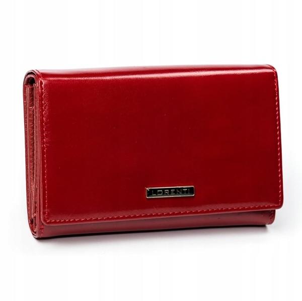 Damen Ledergeldbörse Rot 2905