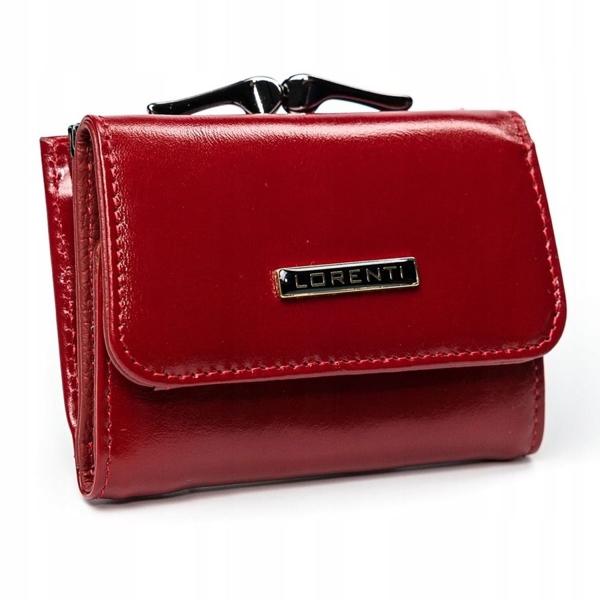 Damen Ledergeldbörse Rot 2908