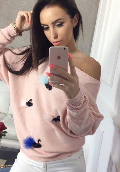 Bolf Damen Pullover Rosa  644