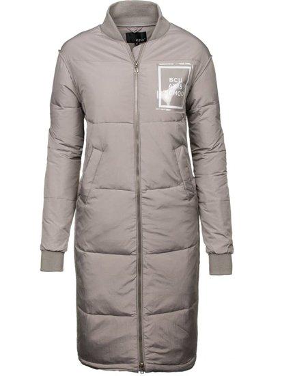 Bolf Damen Winterjacke Grau  8068