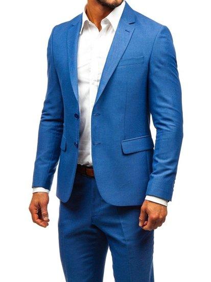 kosten charm billiger Verkauf größte Auswahl an Bolf Herren Anzug Blau 19200-1