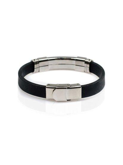 Bolf Herren Armband Schwarz B036