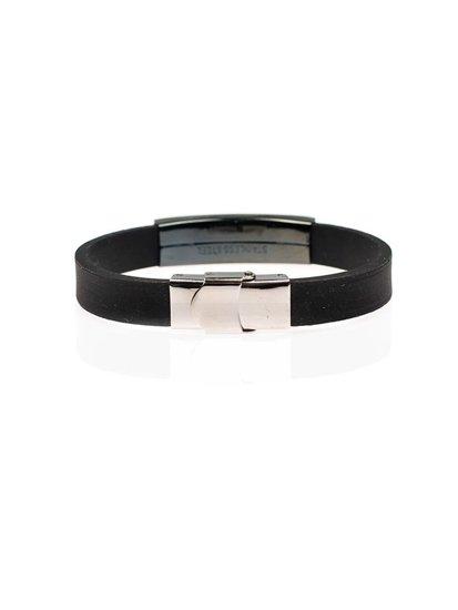 Bolf Herren Armband Schwarz B068
