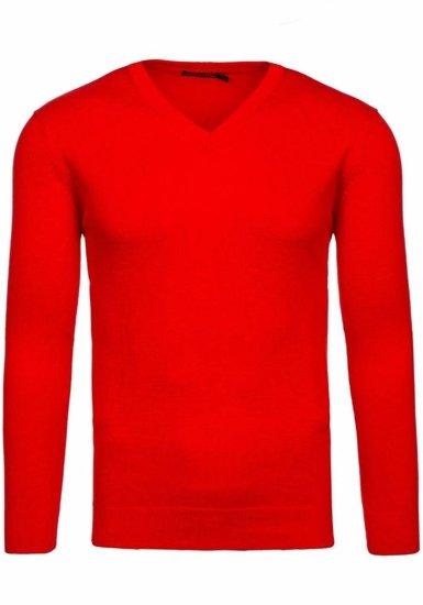 Bolf Herren Pullover Elegant Rot 1813