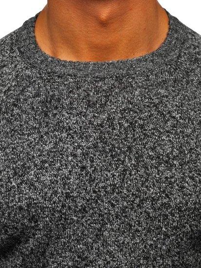 Bolf Herren Pullover Grau H1929