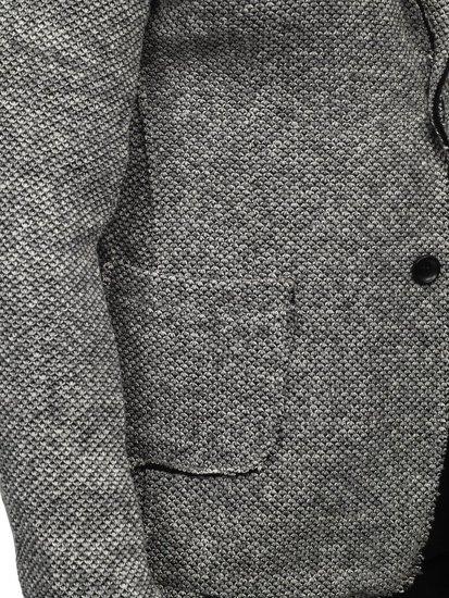 Bolf Herren Sakko Grau  6647