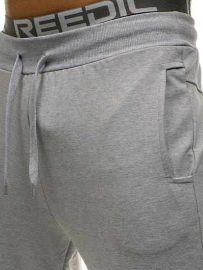 Bolf Herren Sporthose Jogger Grau  W2667