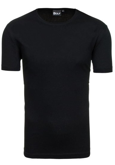 Bolf Herren T-Shirt Schwarz T30