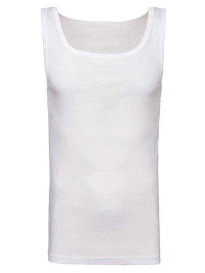 Bolf Herren Unterhemd Weiß  C10010