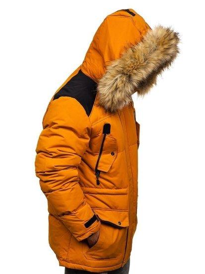 Bolf Herren Winterjacke Camel  5948